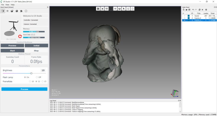 CR Studio Screenshot 06 fail