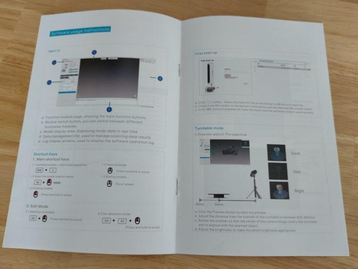 Creality CR Scan01 3D Scanner Anleitung