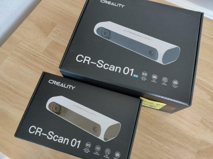 Creality CR Scan01 3D Scanner Verpackung 1