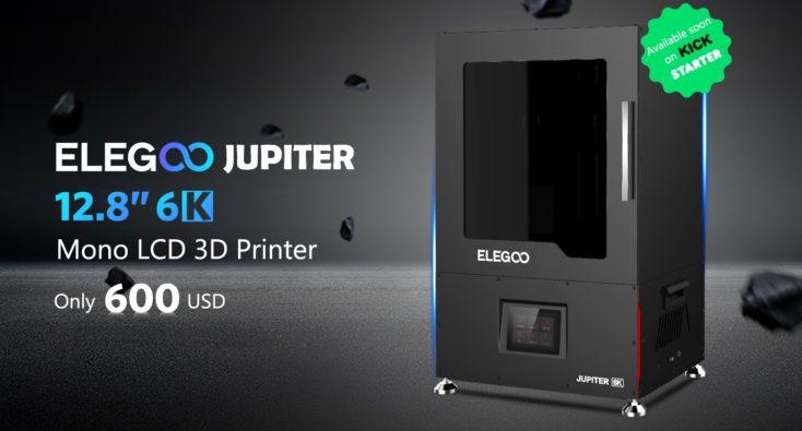 Elegoo Jupiter Kickstarter