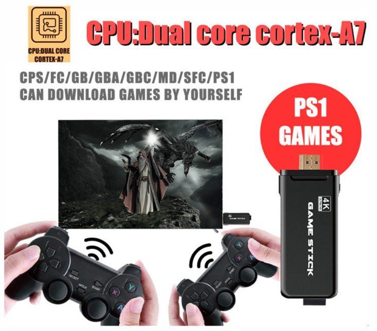 Game Stick Retro Konsole 2