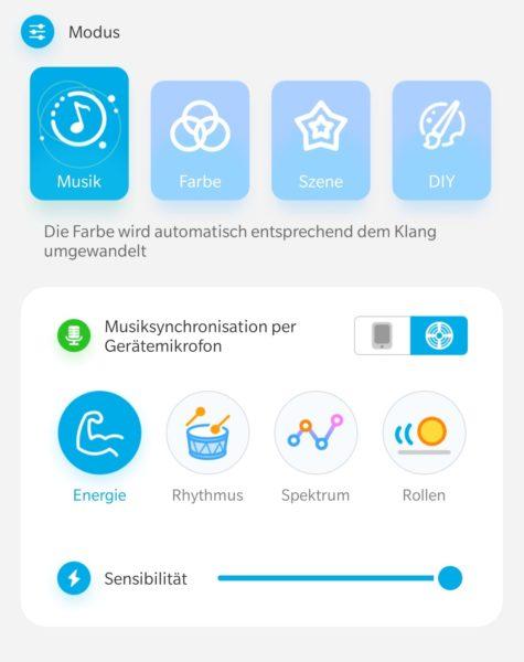 Govee App Musik