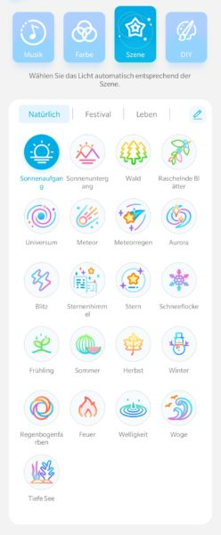 Govee App Szene