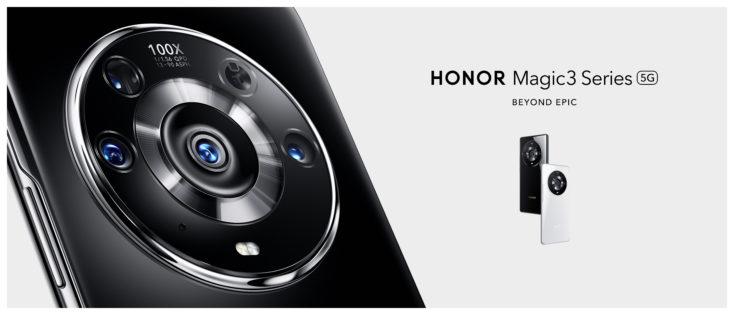 Honor Magic3 Pro Kameramodul Rueckseite Teaser
