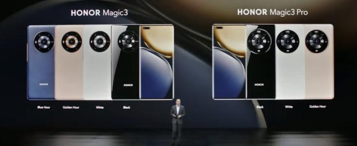 Honor Magic3 Smartphone Farben