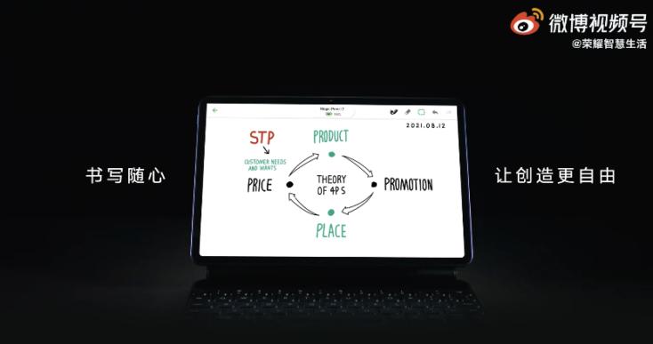 Honor V7 Pro Tablet Design Display