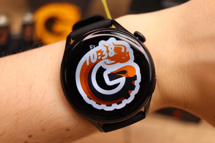 Huawei Watch 3 CG Logo