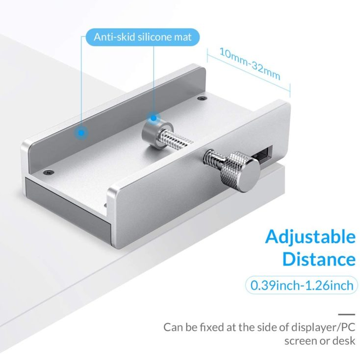 ORICO USB-Hub 4 Ports Anpassbarkeit