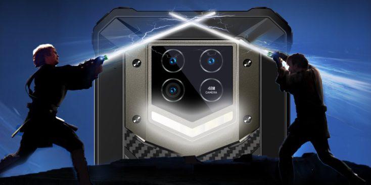 Oukitel WP15 Outdoor Smartphoone Taschenlampe