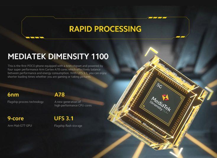 POCO X3 GT Prozessor