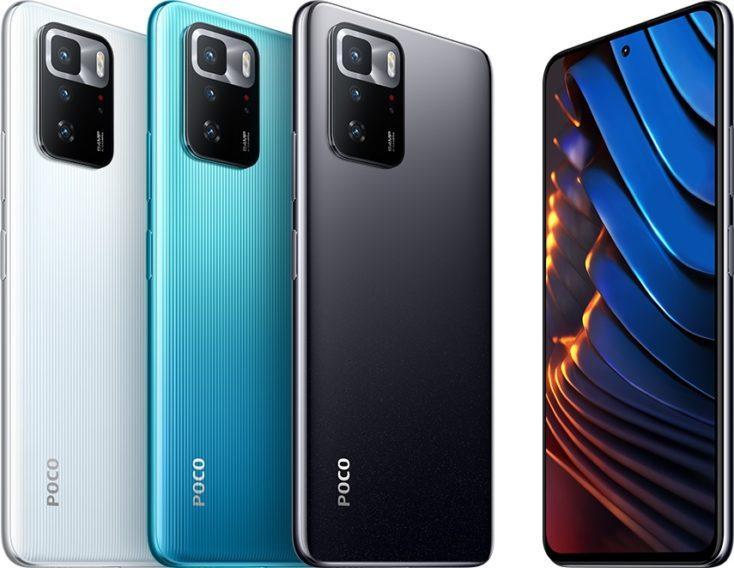 POCO X3 GT Smartphone Farben