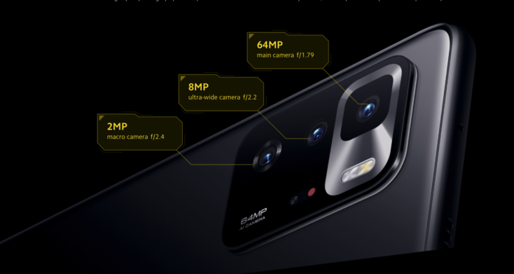 POCO X3 GT Smartphone Kamera