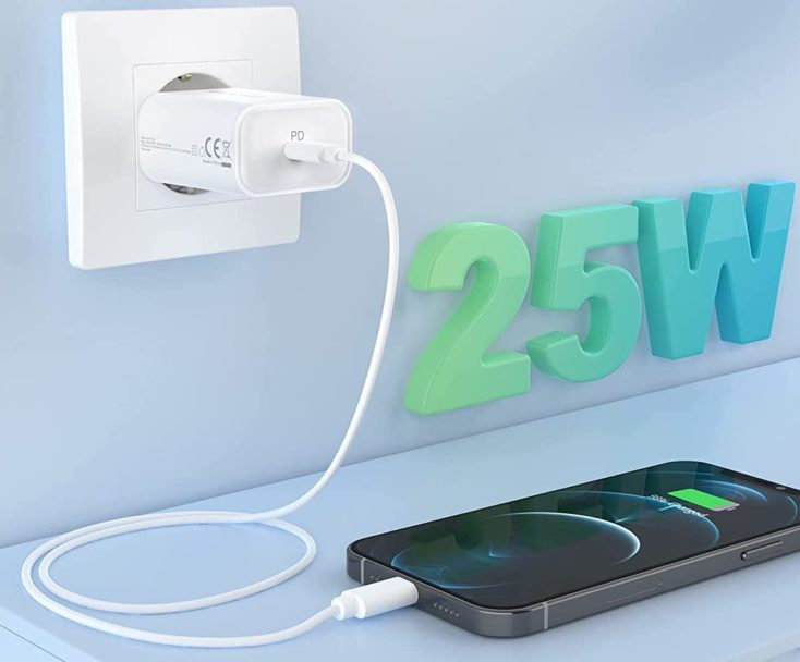 RAVPower 25W USB C Charger Steckdose