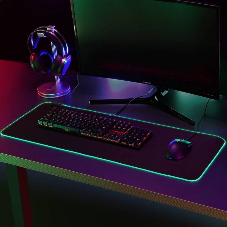 RGB Gaming Mauspad