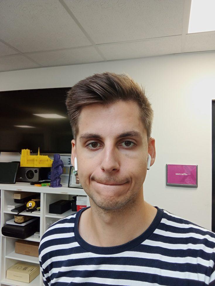 Redmi 10 Frontkamera Testfoto Selfie