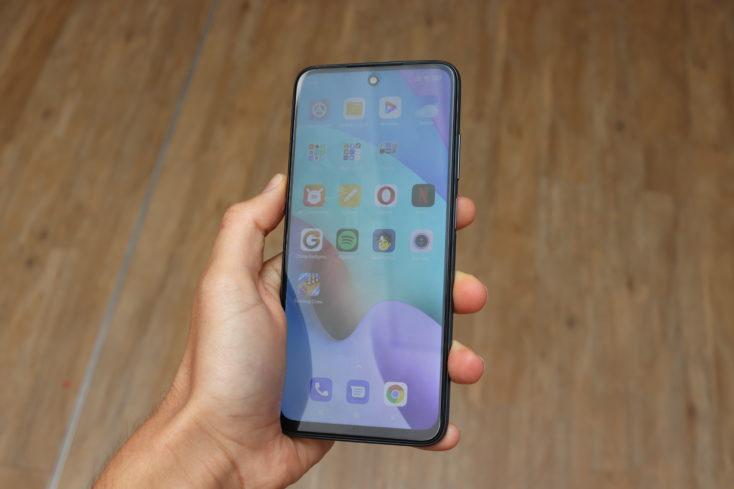 Redmi 10 Smartphone DIsplay schwach ablesbar
