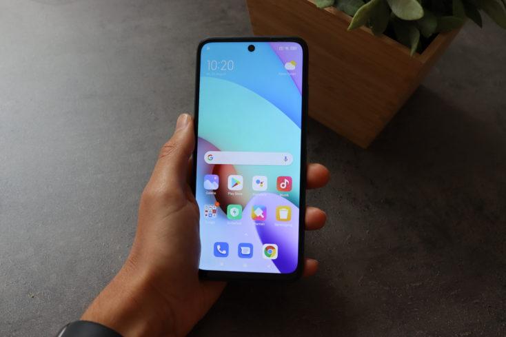 Redmi 10 Smartphone Display