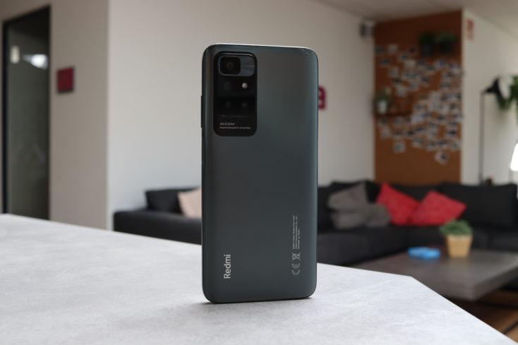 Redmi 10 Smartphone Rueckseite