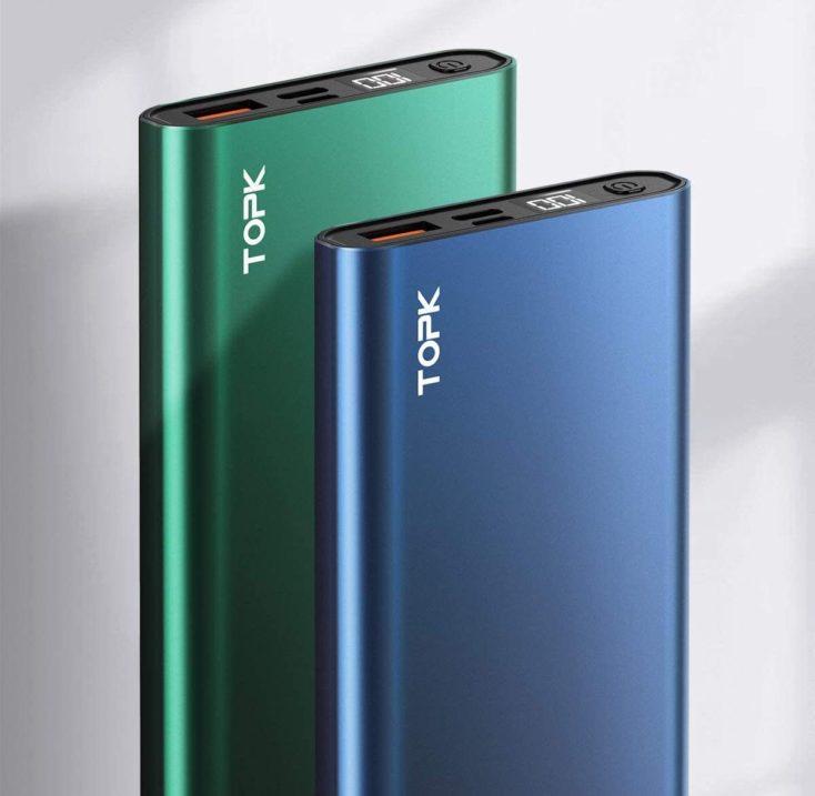 TOPK 10.000 mAh Powerbank Design
