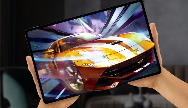 Teclast T40 Plus Tablet in Hand