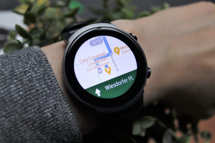 TicWatch E3 Maps