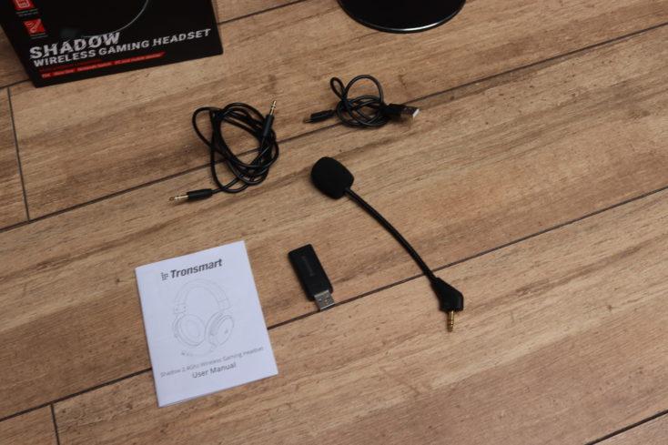 Tronsmart Shadow Headset Lieferumfang