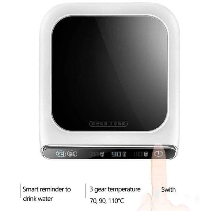 USB Tassenwaermer Display Funktionen