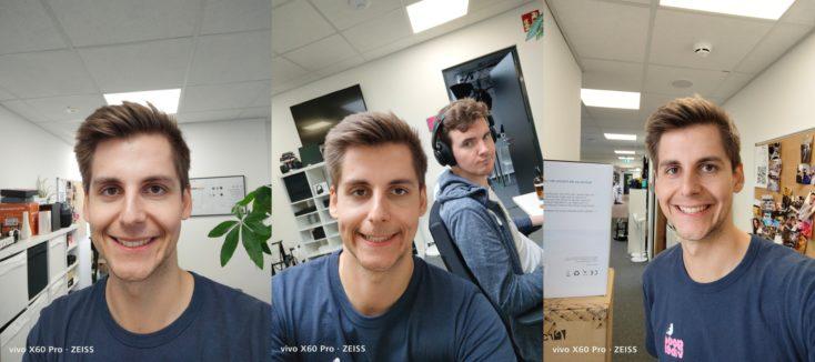 Vivo X60 Pro Selfie