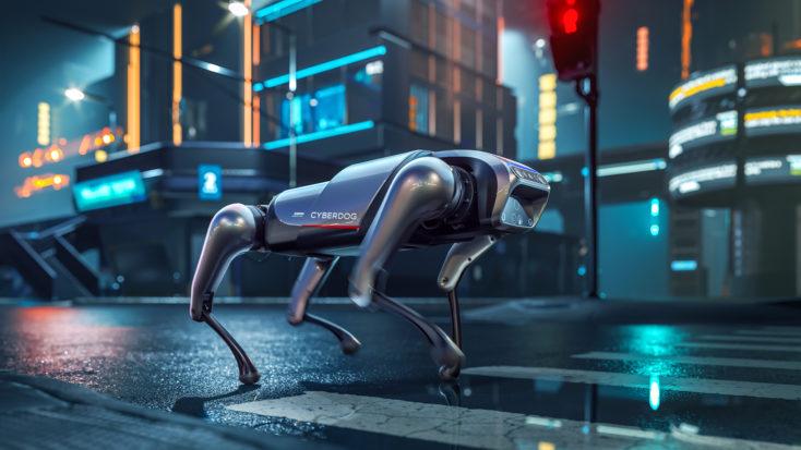 Xiaomi CyberDog Roboter Cyberpunk