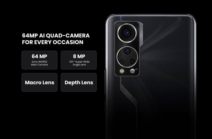 ZTE Axon 30 5G Kamera