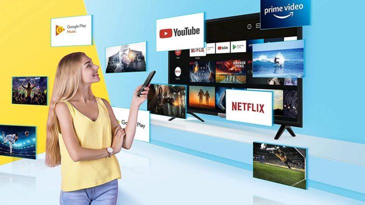 iFFALCON 55K610 Smart 4K TV Apps