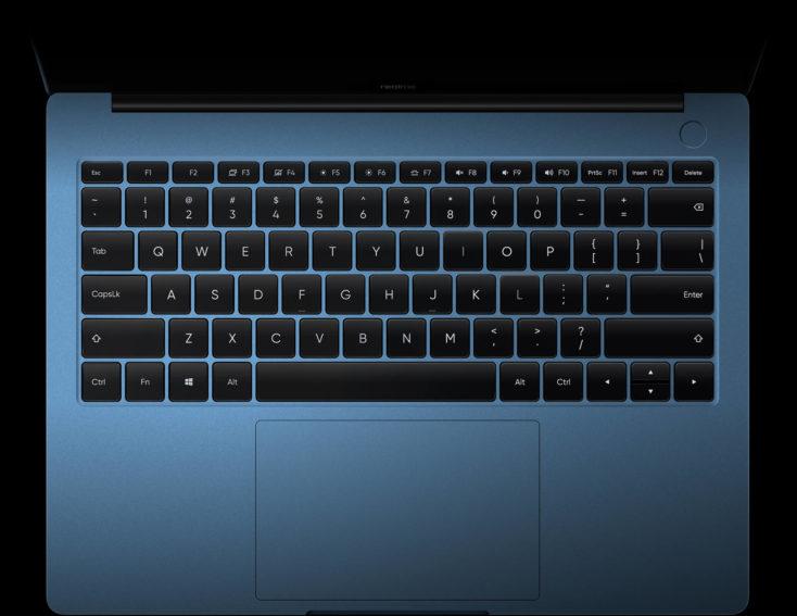 realme Book Notebook Tastatur