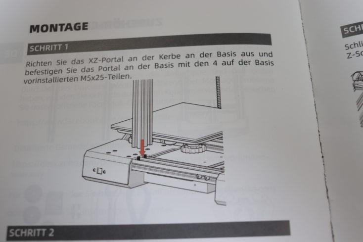 Deutsche Aufbauanleitung - allerdings maschinell übersetzt