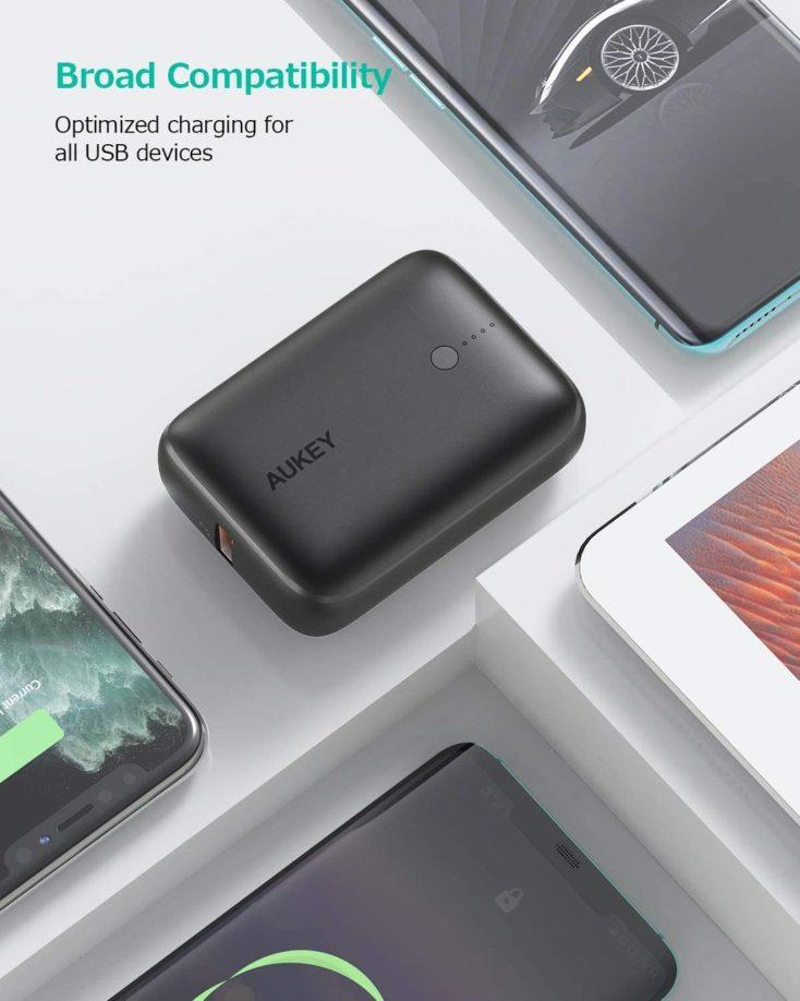 Aukey Mini Powerbank Design