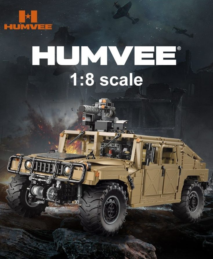 CaDA C61036W Humvee 3