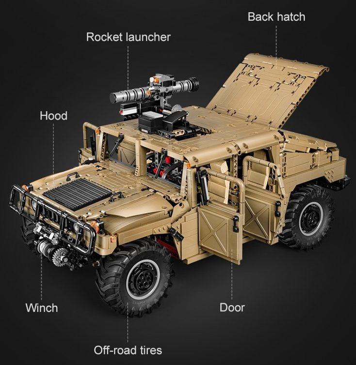 CaDA C61036W Humvee 4
