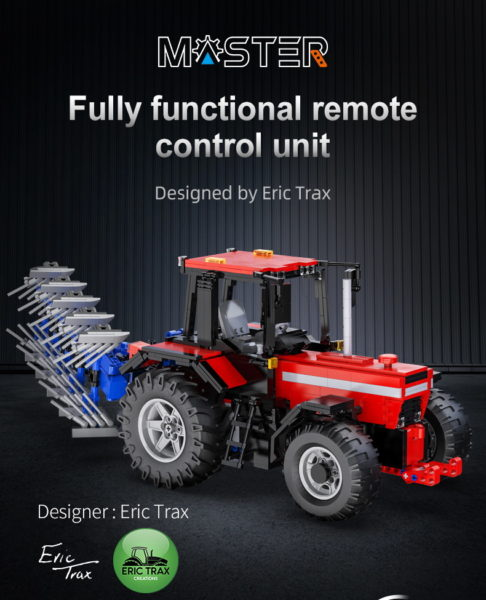 CaDA C61052W Traktor Designer Eric Trax