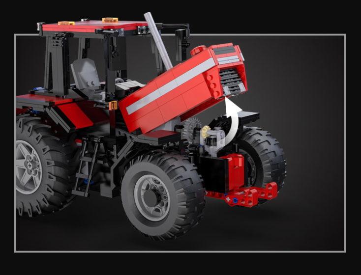 CaDA C61052W Traktor Motor