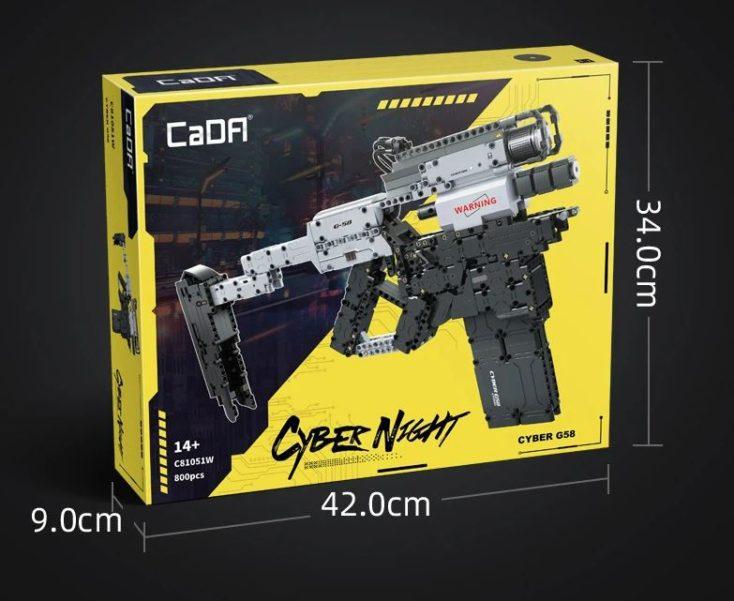 CaDA C81051W Maschinenpistole Verpackung