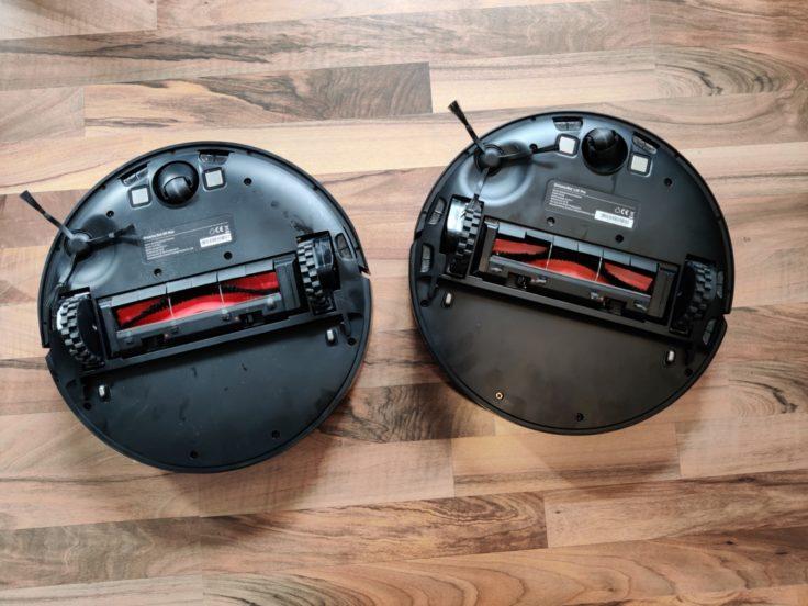 Dreame Bot D9 Max Produktbild im Vergleich BOT L10 Pro Unterseite