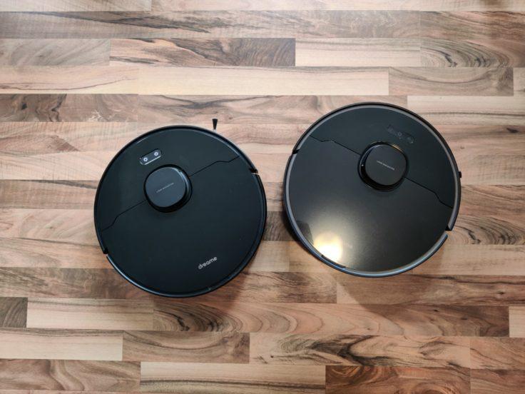 Dreame Bot D9 Max Produktbild im Vergleich mit Bot L10 Pro