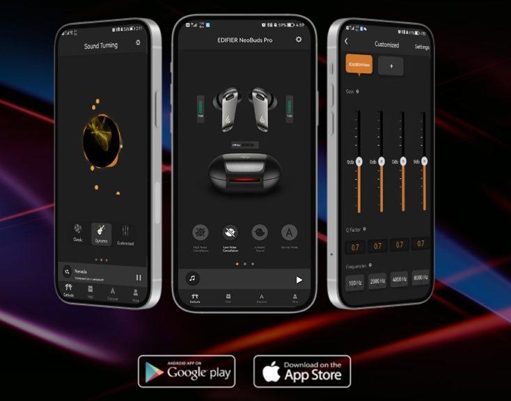 EDIFIER NeoBuds Pro Kopfhoerer App