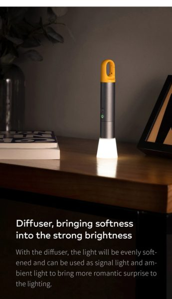 HOTO LED Taschenlampe Diffuser