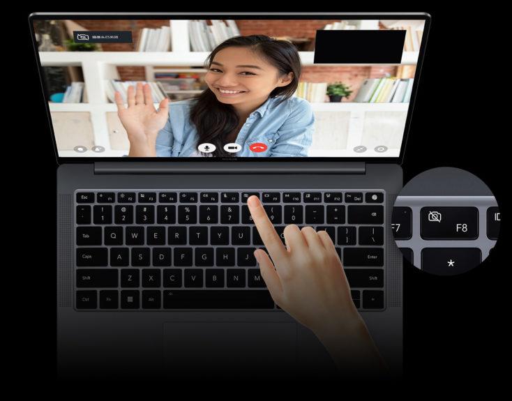 Honor MagicBook V14 Notebook Kamera