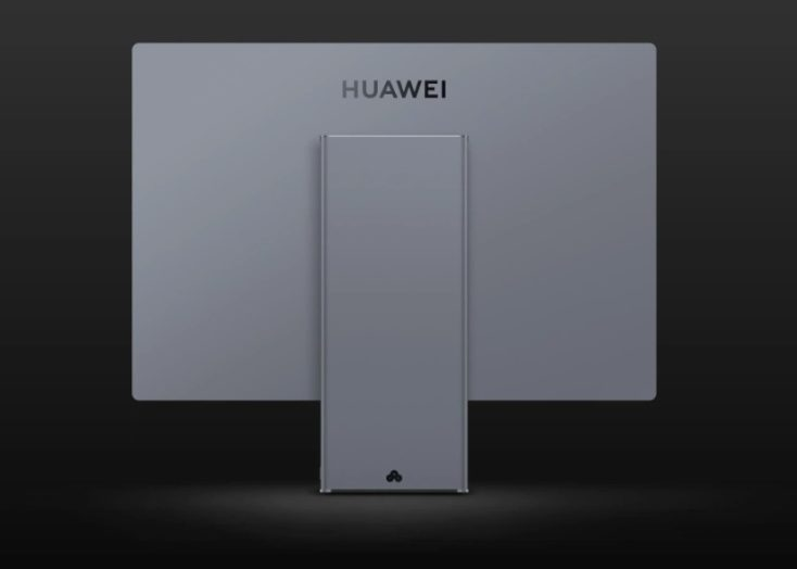 Huawei MateStation X Rueckseite