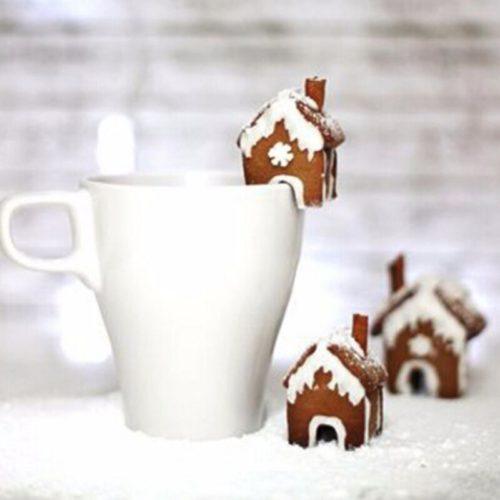 Keksausstecher Mini Lebkuchenhaus Tasse