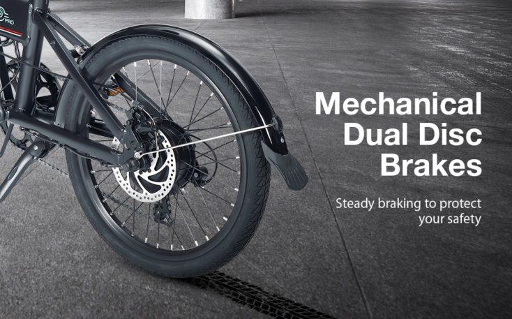 Laotie x Fiido D4s Pro E-Bike Bremsen