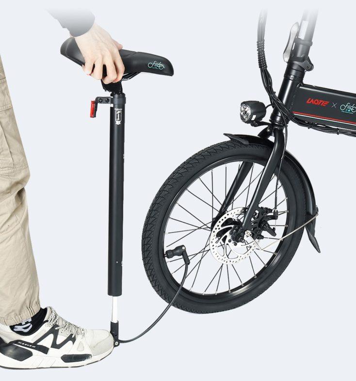 Laotie x Fiido D4s Pro E Bike Luftpumpe