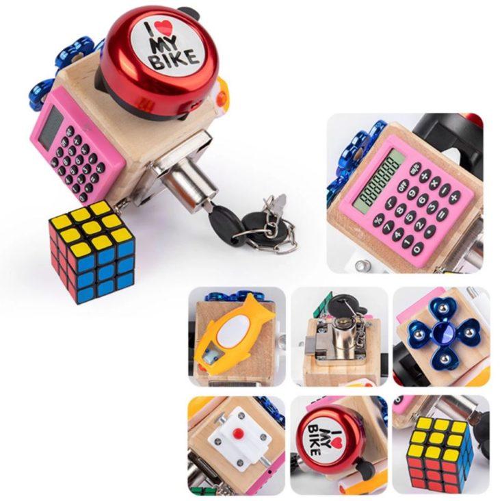 Monster Fidget Cube
