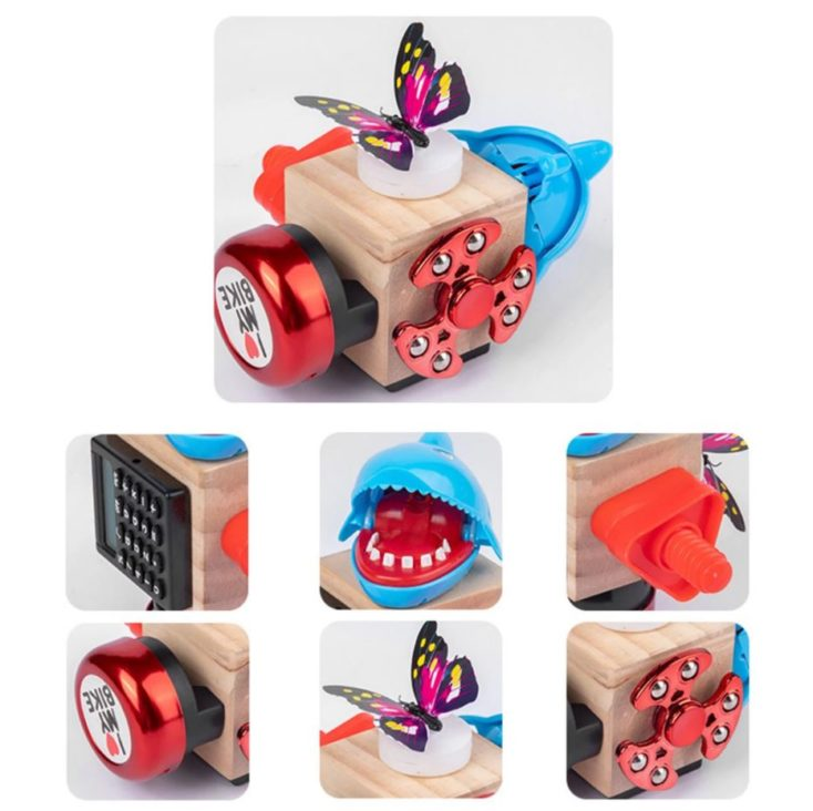 Monster Fidget Cube Version 2